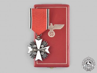 Germany, Third Reich. An Order of the German Eagle, III Class Cross with Swords, by C.F. Zimmermann