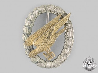 Germany, Luftwaffe. A Fallschirmjäger Badge, by Imme & Sohn
