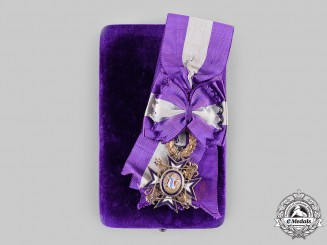 Spain, Kingdom. A Royal Order of Queen Maria Luisa in Gold, Grand Cross Badge by M. Cejalvo, c. 1900