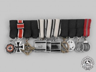 Germany, Federal Republic. A Superb Miniature Medal Chain, 1957 Version
