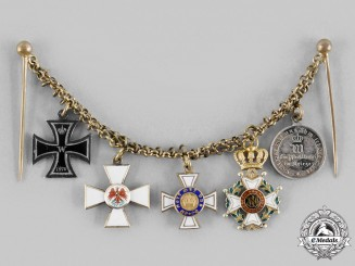 Germany, Imperial. An 1870 Iron Cross Miniature Group