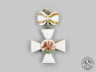 Prussia, Kingdom. An Order of the Red Eagle, Ladies Miniature, c. 1890