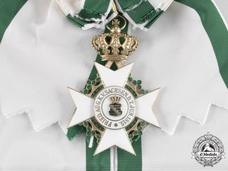 Saxony, Kingdom. A Civil Merit Order, Grand Cross with Crown, c.1915