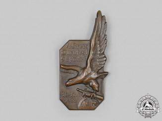Austria, First Republic. A 1932 St. Pölten Gymnastics Festival Commemorative Badge, by R. Schanes