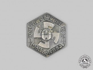 Austria, First Republic. A 1931 Waidhofen an der Ybbs Gymnastics Festival Badge