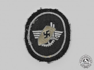 Germany, Third Reich. A Werkschutz Factory Guard Arm Insignia