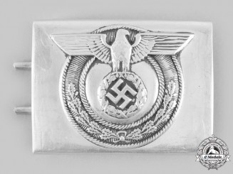 Germany, SA. A SA-Wehrmannschaften Belt Buckle, by Christian Theodor Dicke