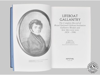 United Kingdom. A Lifeboat Gallantry - The Complete Record of Royal National Lifeboat Institution Gallantry Medals