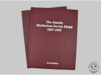 United Kingdom. The Annuity Meritorious Service Medal 1847-1953