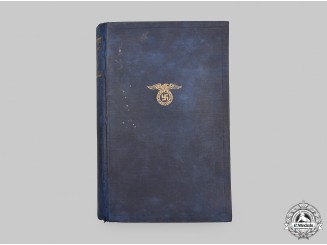 Germany, Third Reich. A 1934 Edition of Mein Kampf