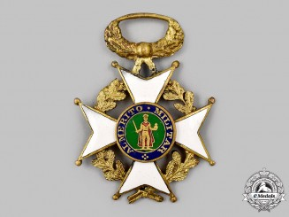 Spain, Kingdom. A Royal and Military Order of St. Ferdinand, c.1965