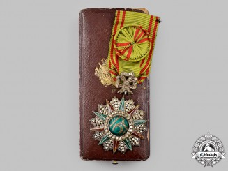 Tunisia, French Protectorate. An Order of Glory, IV Class Officer,  c.1890