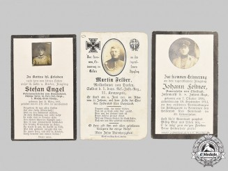 Germany, Imperial. A Lot of First World War Army Death Notices