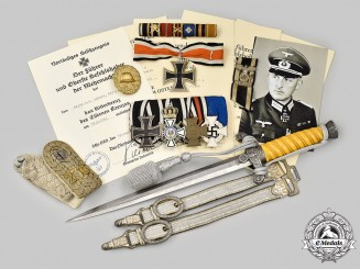 Germany, Wehrmacht. The Awards, Documents, and Accessories of Major der Reserve Karl Schulz