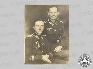 Germany, Heer. A Large Panzergrenadier Division Großdeutschland Studio Portrait