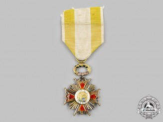 Spain, Kingdom. An Order of Isabella the Catholic, Knight Badge, c.1840