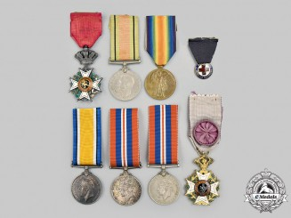 Belgium, Kingdom; Canada; United KIngdom, United States. A Lot of Eight Awards