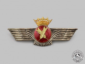 Spain, Fascist State. A Spanish Air Force Stenographer Badge (1936-1975)