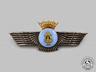 Spain, Fascist State. A Spanish Air Force Band Member Badge (1936-1975)