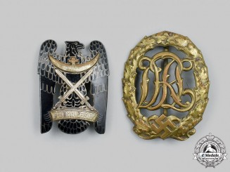 Germany. A Pair of Badges