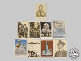 Germany, Third Reich. A Mixed Lot of Postcards