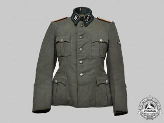 Germany, SS. A Waffen-SS Flak/Artillery Untersturmführer's Service Tunic