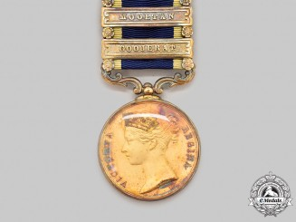 United Kingdom. A Punjab Medal 1848-1849, Dignitary Presentation Specimen
