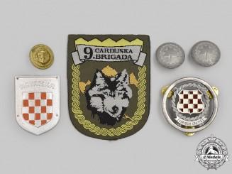 Croatia, Independent Stare, Republic. A Lot of Six Items