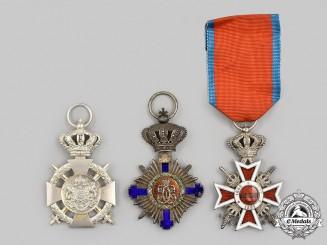 Romania, Kingdom. A Lot of Three Awards