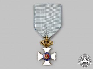 Spain, Kingdom. An Order of Maria Isabella Luisa, Enamelled Cross for Military Merit, c.1860