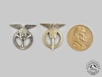 Czechoslovakia (Republic, Socialist Republic). Three Awards & Badges