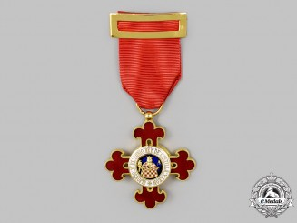 Spain, Kingdom. A Civil Order of Alfonso the Wise, V Class Knight Badge, c.1990