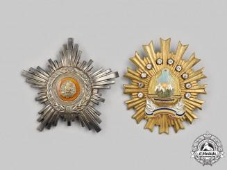 Romania, People's Republic, Socialist Republic. Two Socialist Orders