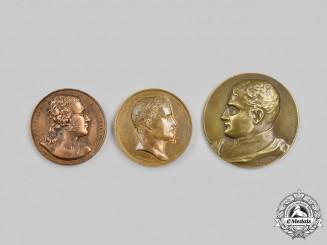 France. A Lot of Three Commemorative Medals