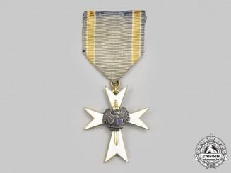 Estonia, Republic. A White Cross Order of the Home Guard, III Class, c.1935