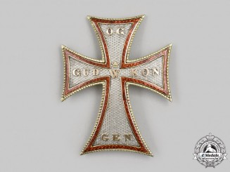 Denmark, Kingdom. An Order of the Dannebrog, II Class Commander Badge, II Period (1808-1842), c.1835
