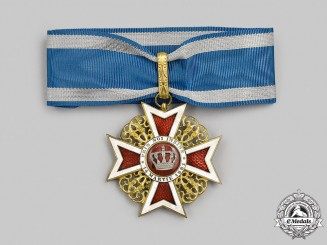 Romania, Kingdom. An Order of the Crown, III Class Commander, Civil Division, c.1900