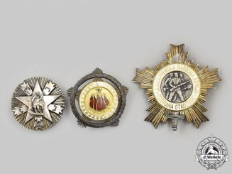 Yugoslavia, Socialist Federal Republic. Three Orders & Decorations