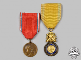 France, III Empire. Two First War Awards