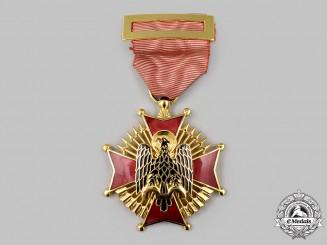 Spain, Fascist State. An Order of Cisneros, Knight Breast Badge, c.1985