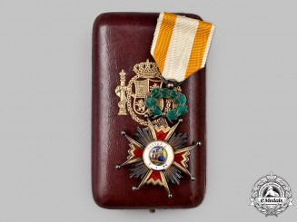 Spain, Kingdom. An Order of Isabella the Catholic, Knight Badge, by Cejalvo Garcia, c.1945