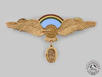 Bolivia, Plurinational State. An Air Force Command Pilot Badge