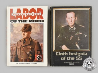Germany, Third Reich. A Set of Reference Books, Labour Organizations and SS Cloth Insignia, by John R. Angolia