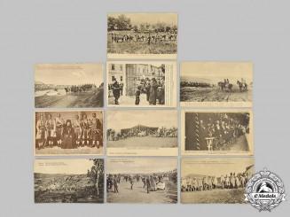 Serbia, Kingdom. A Lot of Ten Unused Postcards, C.1905