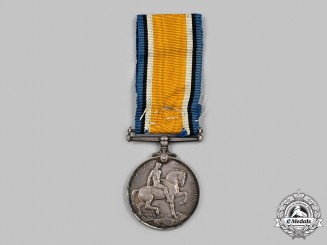 Canada. British War Medal, to Private Andrew Hudson (AKA Andrew Stoskopf), Canadian Army Service Corps