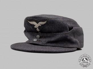 Germany, Luftwaffe. A Luftwaffe EM/NCO's M43 Field Cap