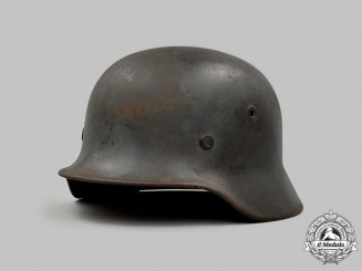 Germany, Heer. An M40 Camouflage Stahlhelm, by F.W. Quist