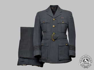 Canada, Commonwealth. A Royal Canadian Air Force Wing Commander's Dress Uniform  of A.J.Kerwin MD