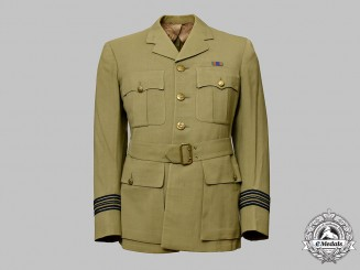 Canada, Commonwealth. A Royal Canadian Air Force Squadron Leader's Summer Dress Tunic