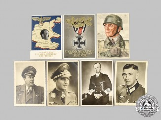 Germany, Wehrmacht. A Lot of Photos and Commemorative Postcards